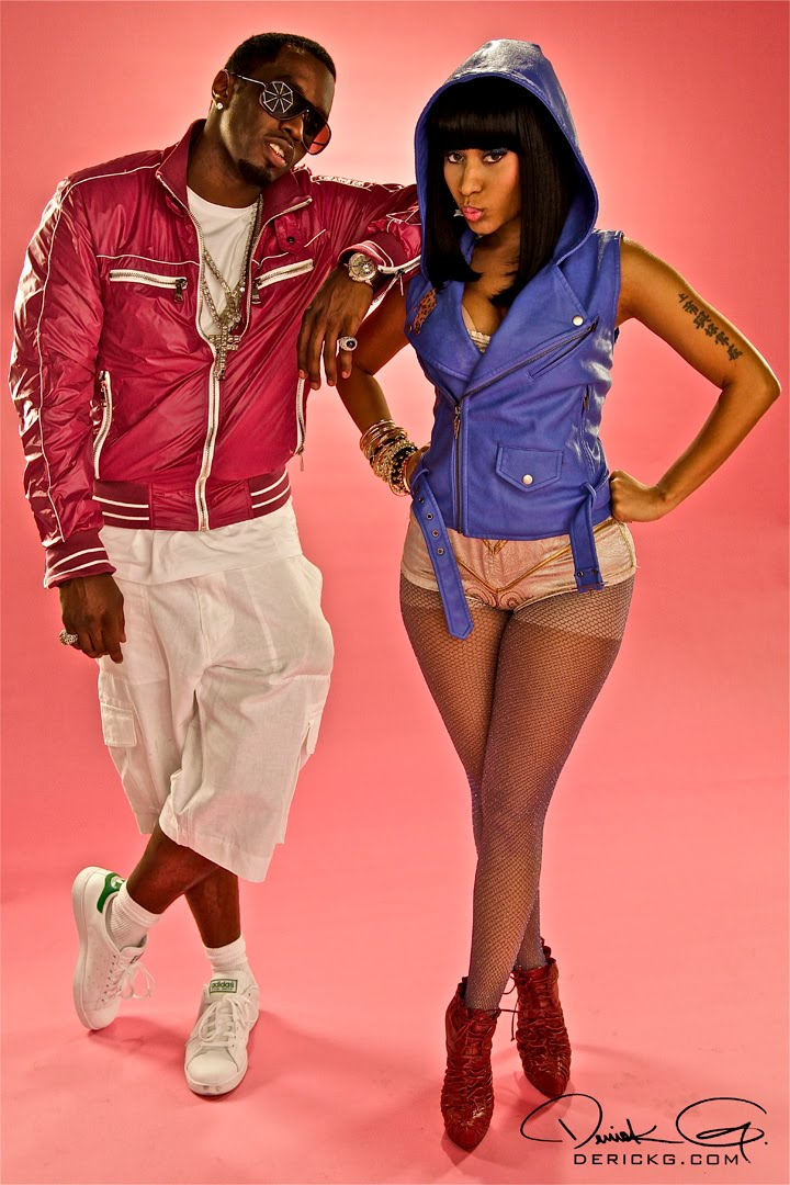 nicki minaj feet pic. Diddy amp; Nicki Minaj