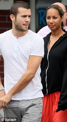Leona Lewis couple
